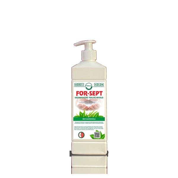 dezinfekčné tekuté mydlo FOR-SEPT – 500ml